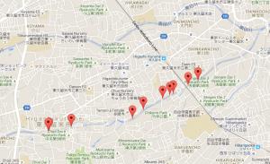落合川マップ