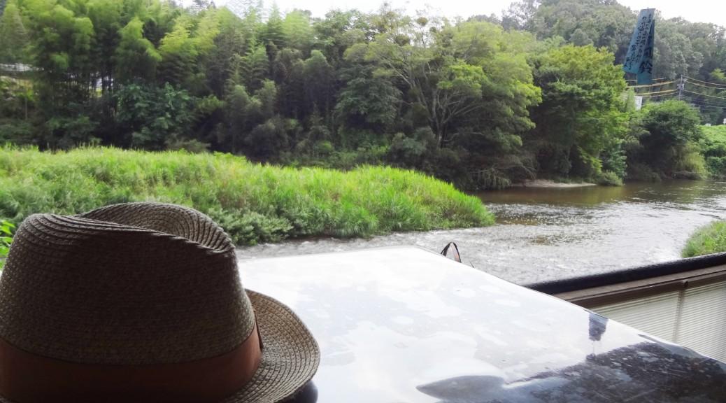 風鈴と川ー写真AC